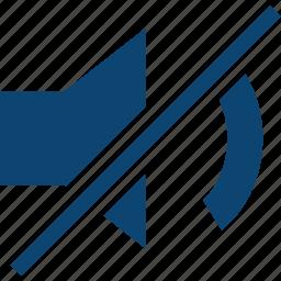 mute, sound, voice icon