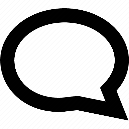 bubble, chat, conversation, gtalk, talk icon