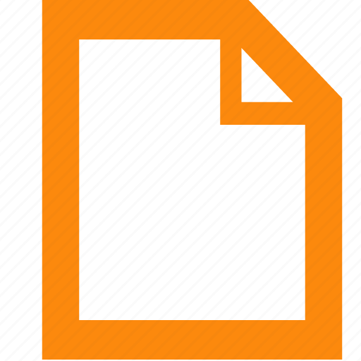 document, empty, new, new tab icon