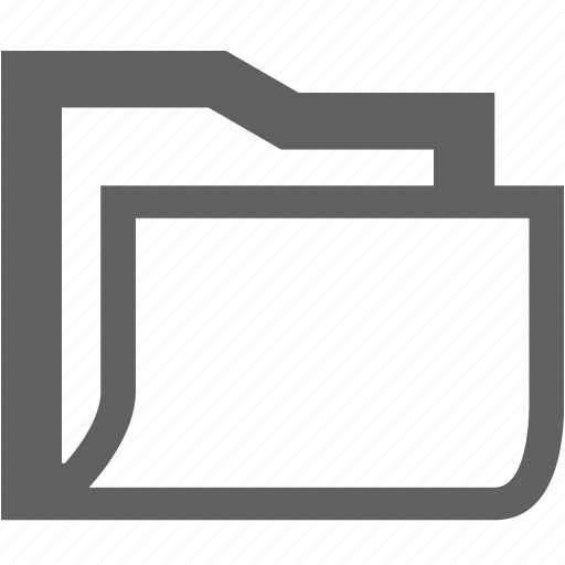 empty, folder, new, new folder icon