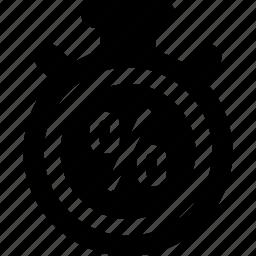 blackfriday, countdown, time icon