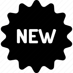 badge, blackfriday, label, new, product icon