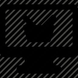 blackfriday, computer, e-commerce, online, shop, store icon