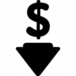 blackfriday, discount, down, price, sale icon