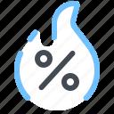 discount, sale, hot, prices, precent, black, friday icon