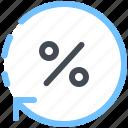 discount, sale, precent, price, update, arrow, promo icon
