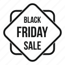 discount, friday, offer, price, sale, sign, tag icon