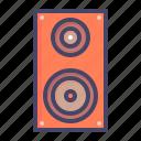deejay, loud, music, noise, speaker, woofer