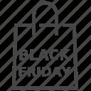 bag, basket, black friday, cart, shop, shopping icon
