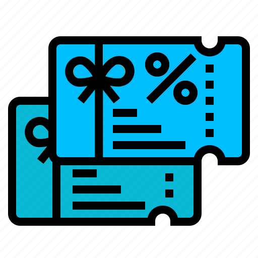 coupon, discount, gift, percentage, voucher icon