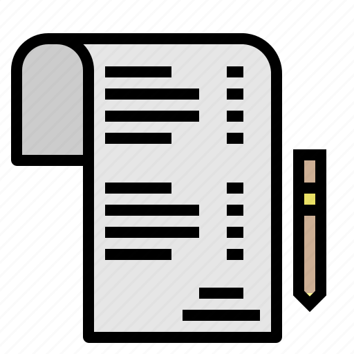 check, document, list, menu, wish icon