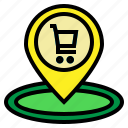 holder, market, place, shop, shopping icon