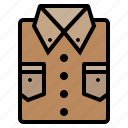 business, clothes, clothing, fashion, shirt icon