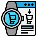 buy, online, shopping, smart, watch