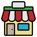 front, market, sale, shop, store icon
