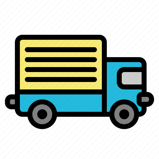 car, delivery, transportation, truck, vehicle icon