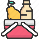 checkout, ecommerce, retail, shop, shopping basket icon