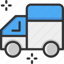 delivery truck, delivery van, truck icon