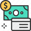 credit card, moneymprice, payment method icon