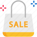 fashion, handbag, sale icon