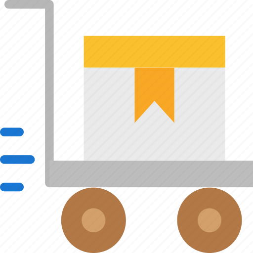 Gift, packages, trolley icon - Download on Iconfinder