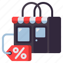 clearance, sale, shopping icon