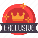 exclusive, crown, shopping