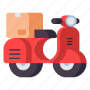 delivery, local, shipping icon