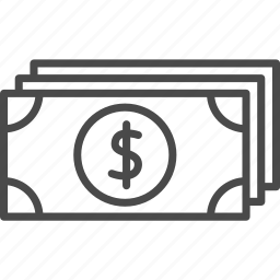 bank, banking, banknote, dollar, finance, financial, money icon
