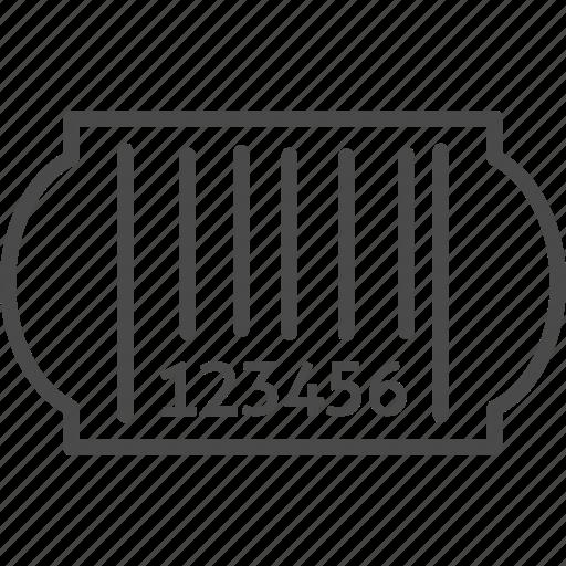 bar, bar code, barcode, code, retail, shop, shopping icon
