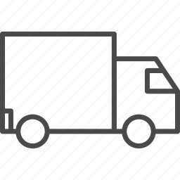 car, delivery, lorry, shopping, transport, truck, vehicle icon