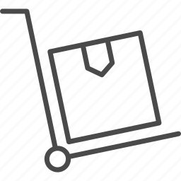 box, delivery, order, pack, package, retail, supply icon