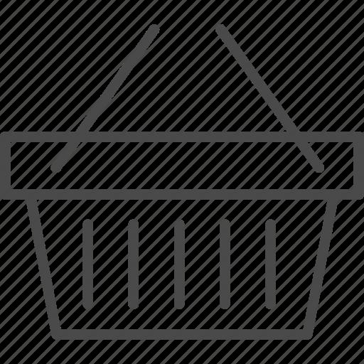 bag, basket, market, retail, shop, shopping, store icon