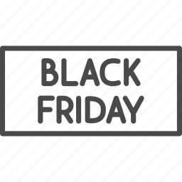 black friday, discount, label, retail, sale, shop, shopping icon