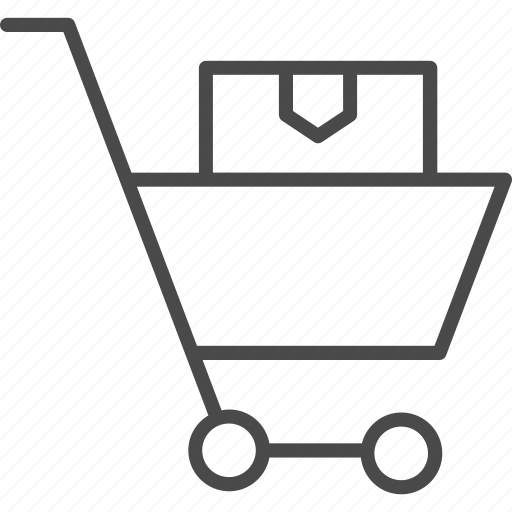basket, cart, delivery, online, shop, shopping, store icon