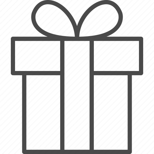 birthday, box, gift, holiday, pack, package, present icon