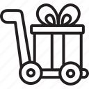 black friday, cyber, delivery, gift, monday icon
