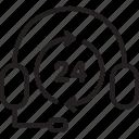 black friday, cyber, helpdesk, monday, nonstop, service icon