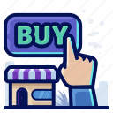 buy, hand, shop, store icon