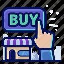 buy, store, hand, shop