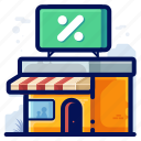 sale, store, e-commerce, shop icon