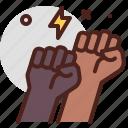 blacklivesmatter, diversity, protest, racism icon