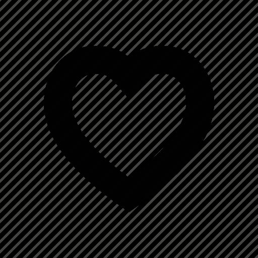 favorite, heart, love, romance, romantic, valentine, wedding icon