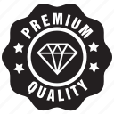 badge, label, premium, quality icon