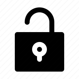 login, open, security, unlock, unprotect icon