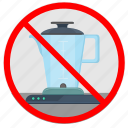 blender, cancel, kitchen, use icon