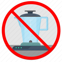 blender, cancel, kitchen, use icon