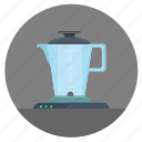 blender, empty, kitchen, mixer, pitcher icon