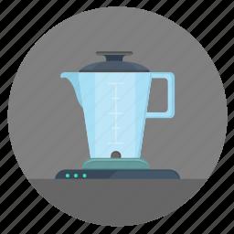 blender, empty, kitchen, mixer, pitcher icon