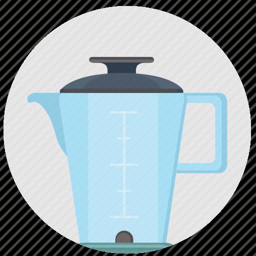 blender, glass, kitchen, mixer, pitcher, technics icon